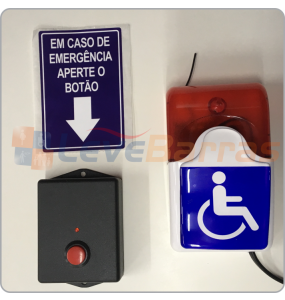 Alarme PCD / PNE Audiovisual Sem Fio (Wireless) - Focus