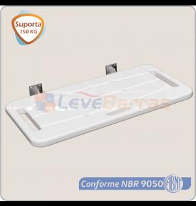 Banco para Banho Articulado 70 x 45 cm - PRIME