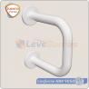 barra de apoio lateral para lavatorio aluminio branco