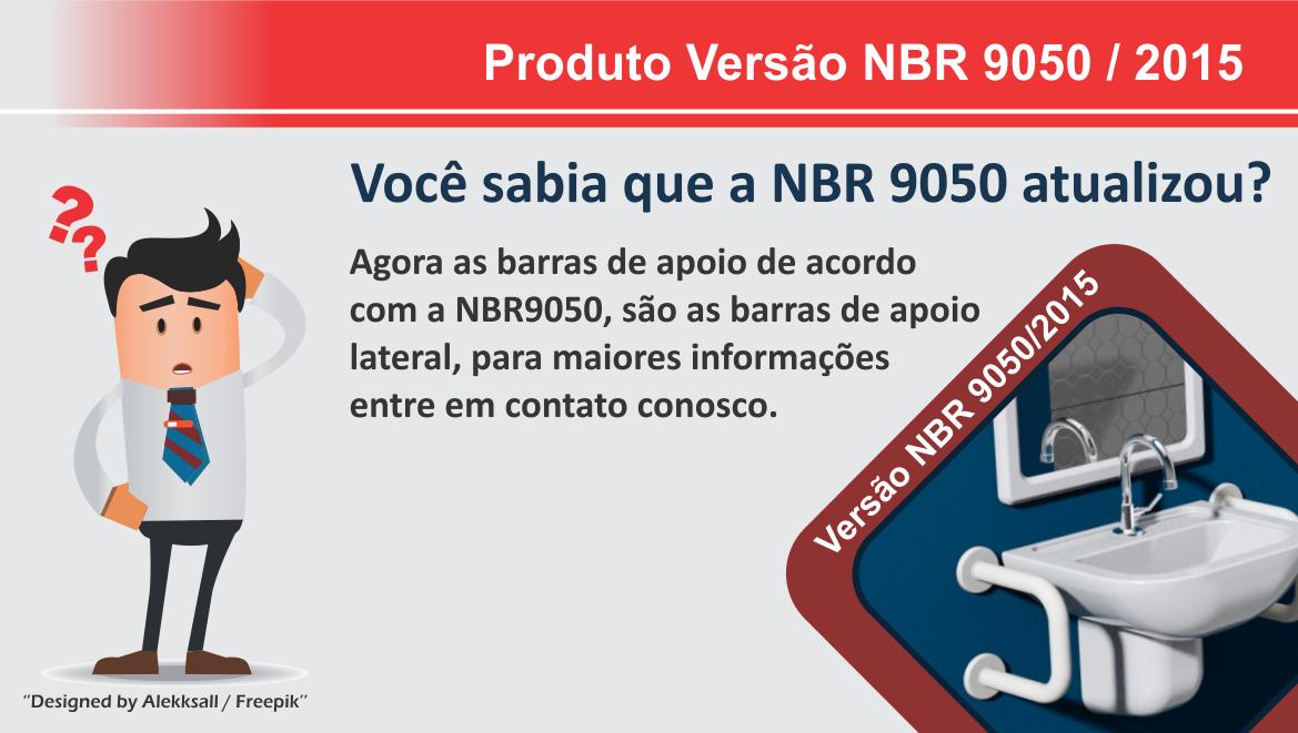 Padrão NBR 9050 Barra para Lavatório