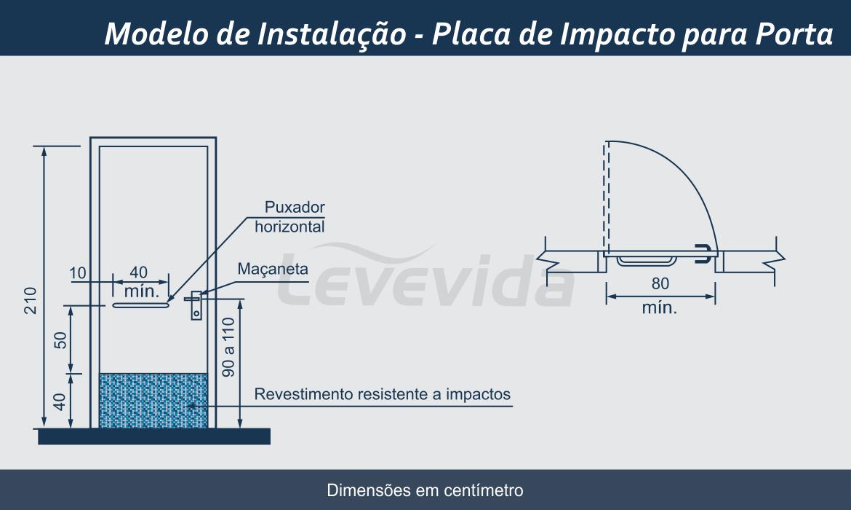 Placa de Impacto para Porta