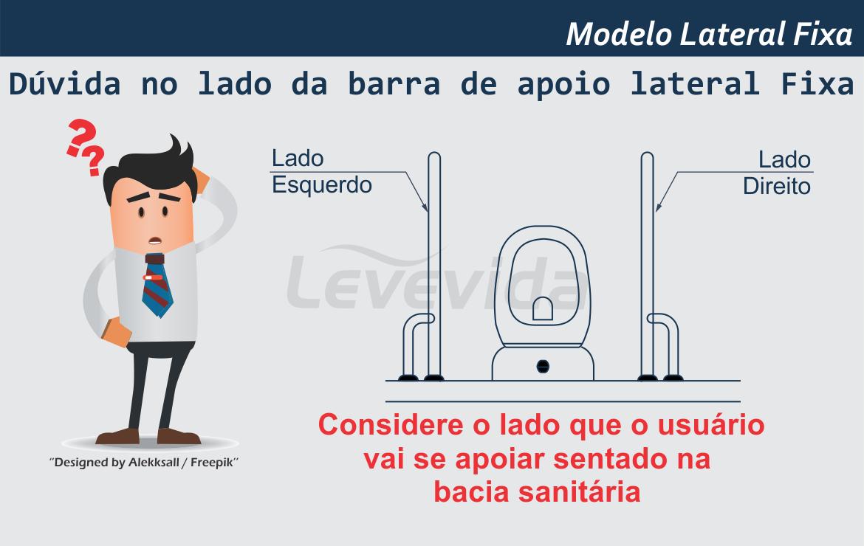 Barra de Apoio Lateral Fixa